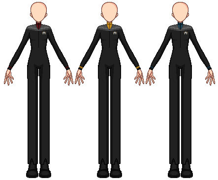 Male Star Trek Uniform Template (DS9) by Sirena-Voyager