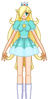 Princess Rosalina - Mario Tennis N64 (Retro)