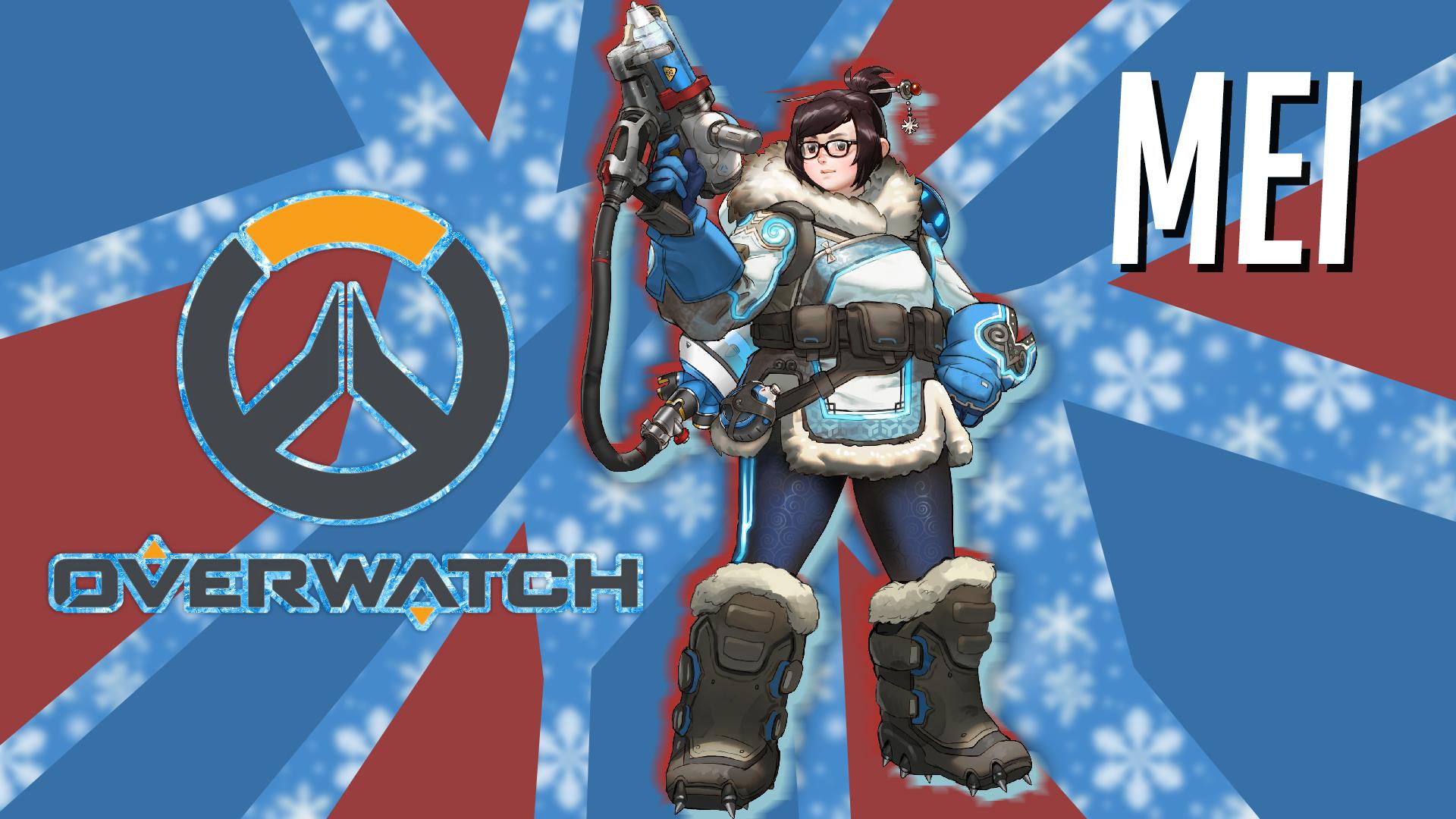 Mei from overwatch wallpaper by stiv2001 on deviantart - Mei wallpaper ...