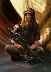 apocalyptic woman