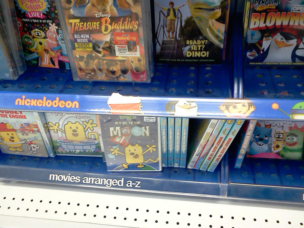 Toys R Us Dvd : Toys r us dvd shelf section improved by nickjuly on