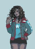 America Chavez by marina-rasi