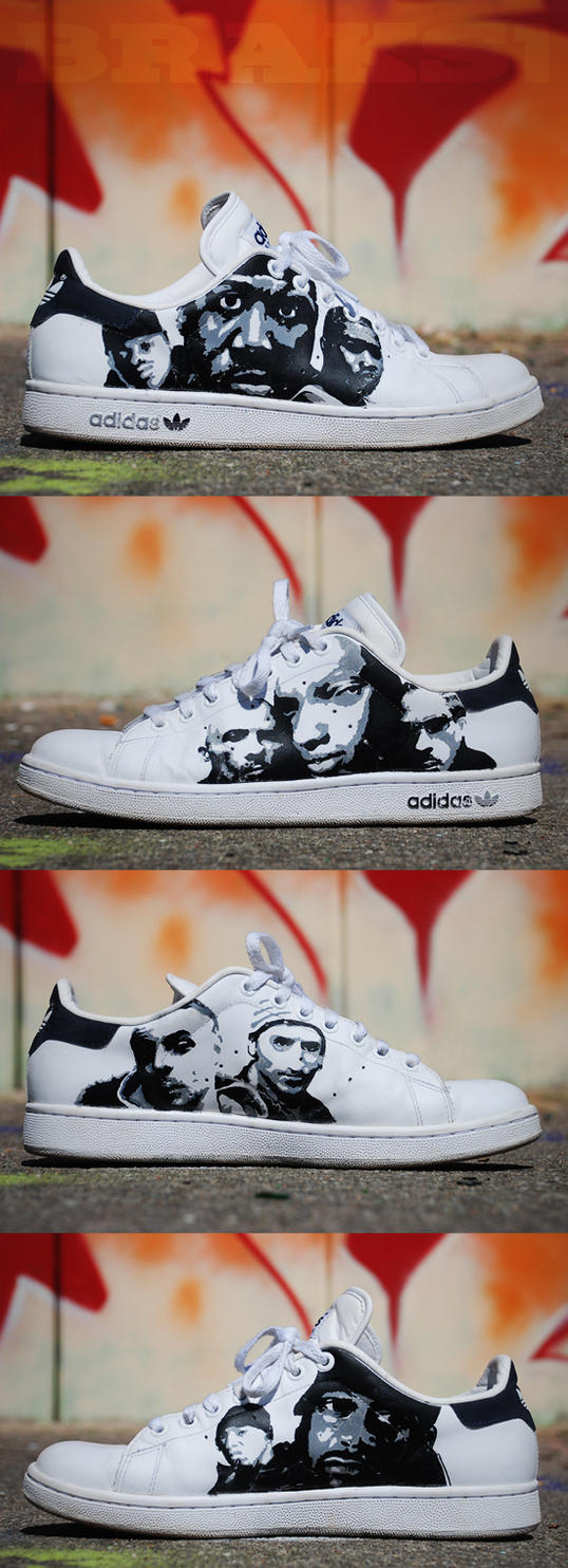 Hip hop stan smith by Bra-kho