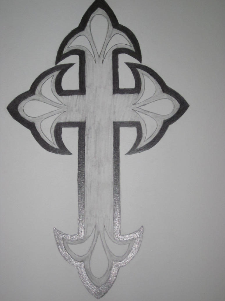 Cross Tattoo Design by Tittawen on DeviantArt
