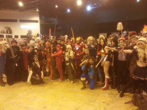 Cosplay Cardiff film and comic con 2014