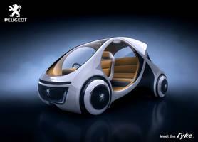 Peugeot Tyke - Front by drewbrand