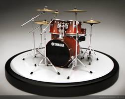 Yamaha Stage Custom by drewbrand