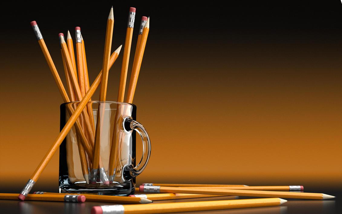 Pencil Mug Final by drewbrand
