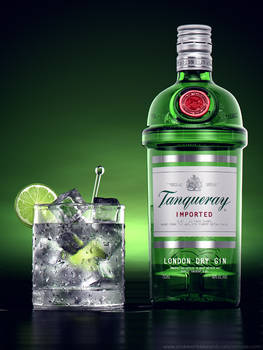 Liquor Rainbow Series: Tanqueray