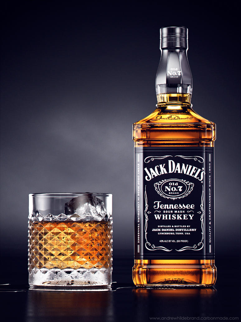 Liquor Rainbow Series: Jack Daniel's by drewbrand