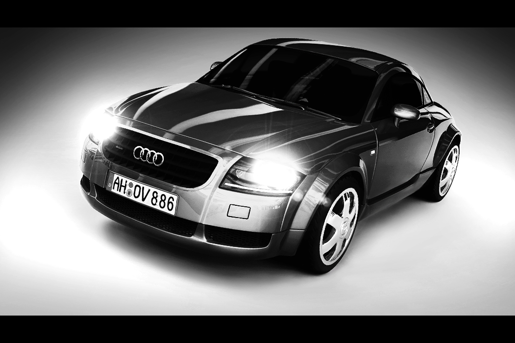 Audi TT - Black n White by drewbrand