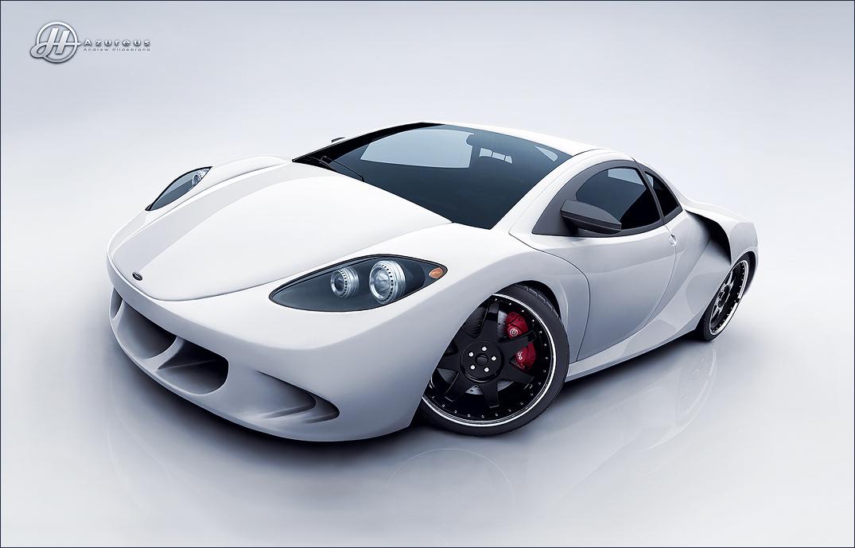 Azureus Supercar White by drewbrand on DeviantArt