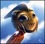 Cute Rocketeer
