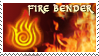 Fire Bender Stamp by Naryu