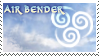 Air Bender Stamp by Naryu