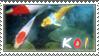 Koi stamp by Naryu