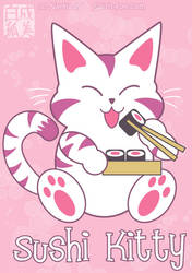 Sushi Kitty by Naryu