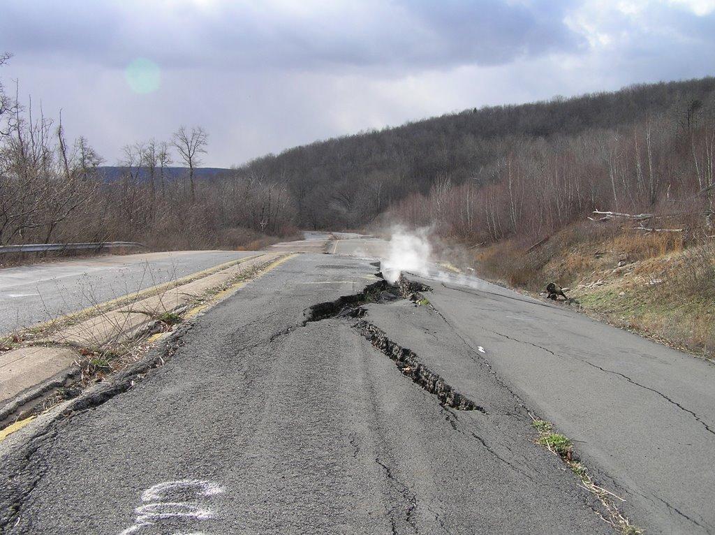 Broken Road by arkytraveler