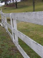 Whitewashed Fence by arkytraveler