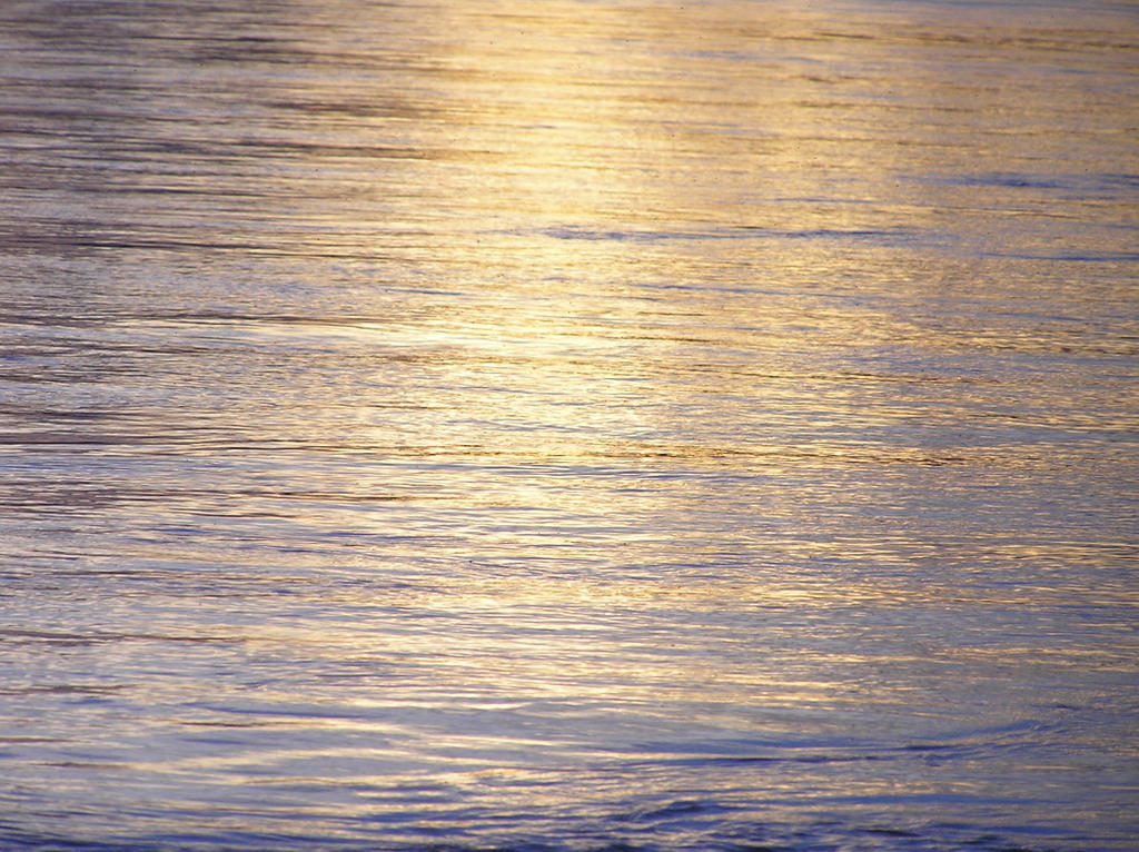 Water I - Sunset by arkytraveler