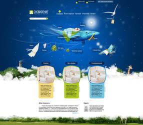 Web-design for 'sleepy' shop by DaBiggaBoy