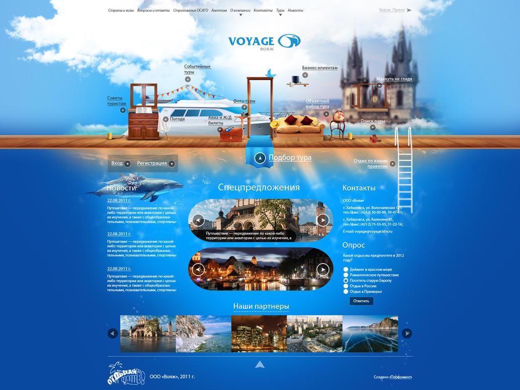 Local tour company web design by dabiggaboy