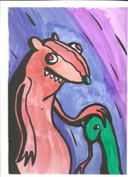 mongoose hearts snake