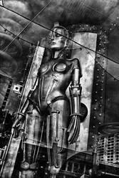 Metropolis by twotoneink