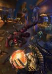 Azmodan vs Diablo