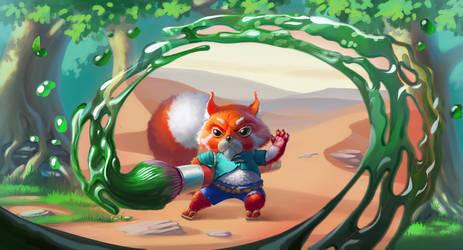 Artist Avatar Challenge, Red Panda