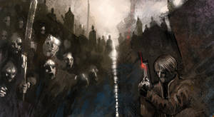 Resident Evil 4 Speed Painting by SHadoW-Net