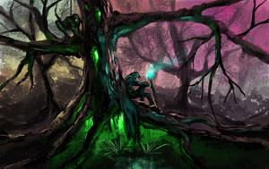 Magic tree by SHadoW-Net