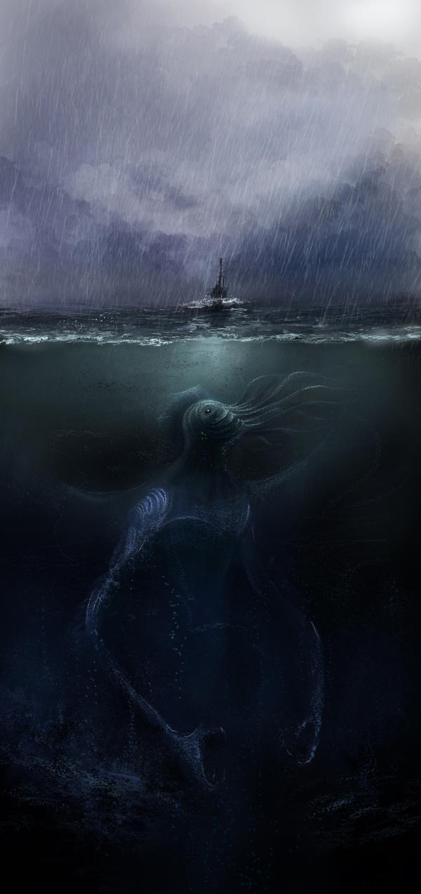 Cthulhu by SHadoW-Net
