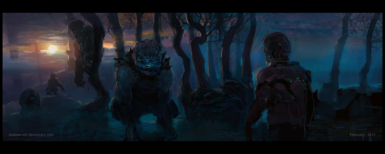 Strange worlds by SHadoW-Net