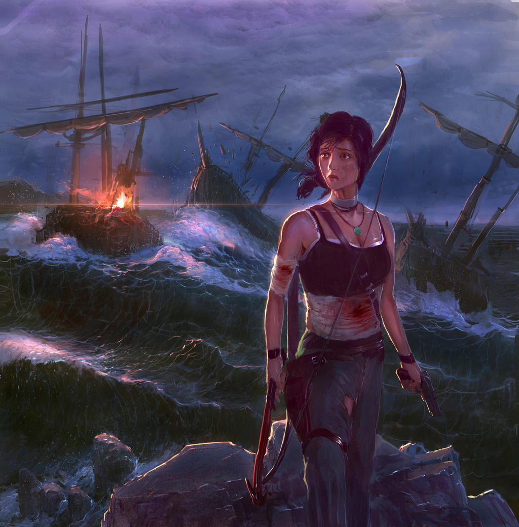 Art Lara Croft Shadow Of The Tomb Raider Desktop Wallpapers: Lara Croft By SHadoW-Net On DeviantArt