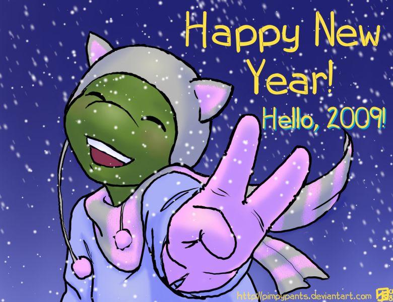 Happy New Year 2009 by Pimpypants on DeviantArt