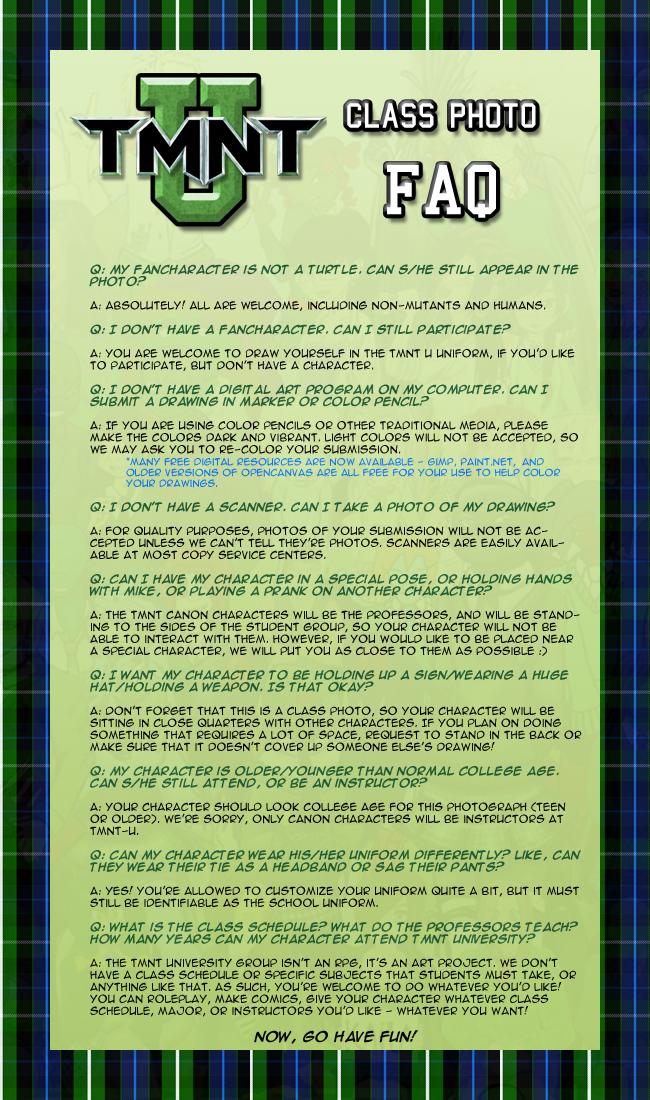 TMTN University FAQ for 2010 by Pimpypants