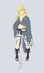 Naruto oc Hitomi base color