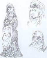 Lady of Jerusalem - costumes by Pellury