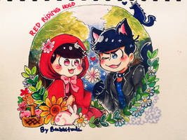 My little red riding hood~ by Brabbitwdl
