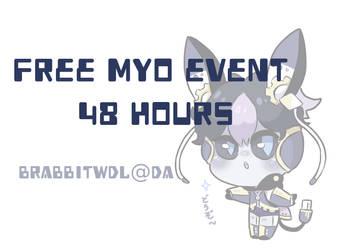 Biyttes Free MYO EventII CLOSED by Brabbitwdl