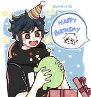 happy birthday mon! by Brabbitwdl
