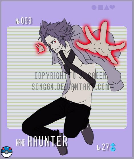 Gijinka Pokemon- Haunter By Song64 On DeviantArt