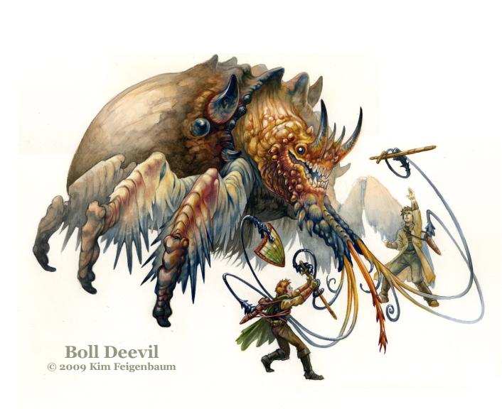 Boll Deevil by GrendelGrack