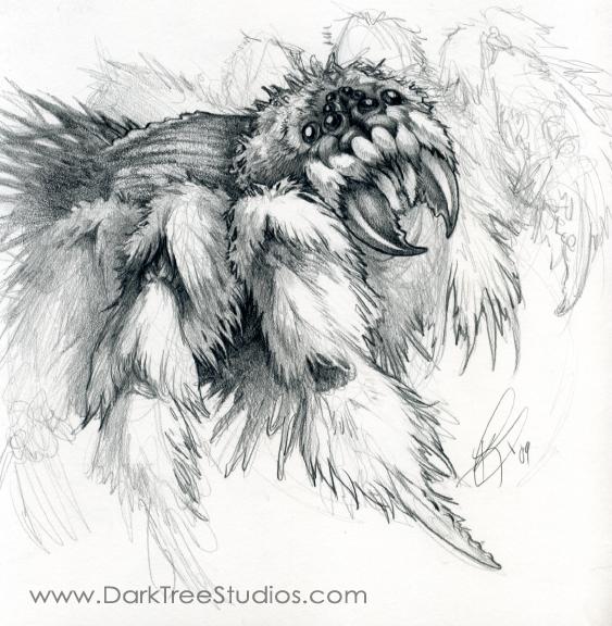 Monster Spider by GrendelGrack