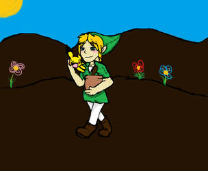 link and pikachu by shadowrobotnik1996