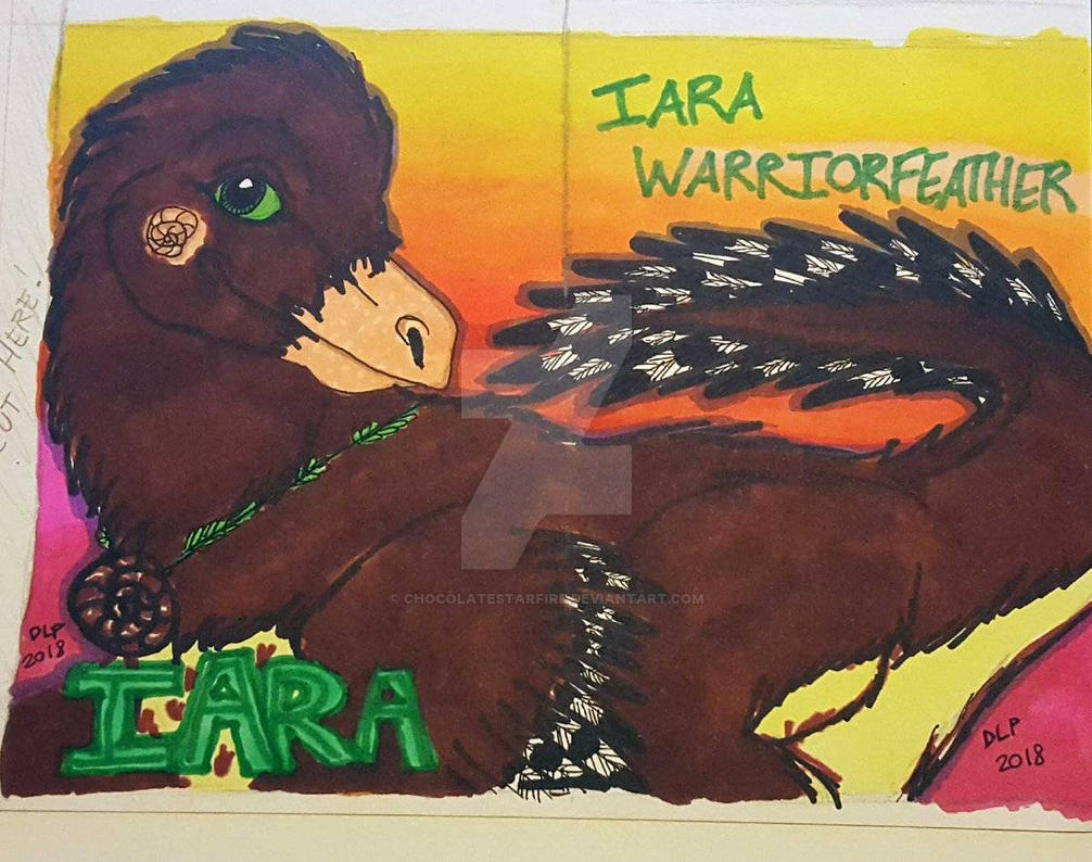 Iara Badge 2018  by ChocolateStarfire