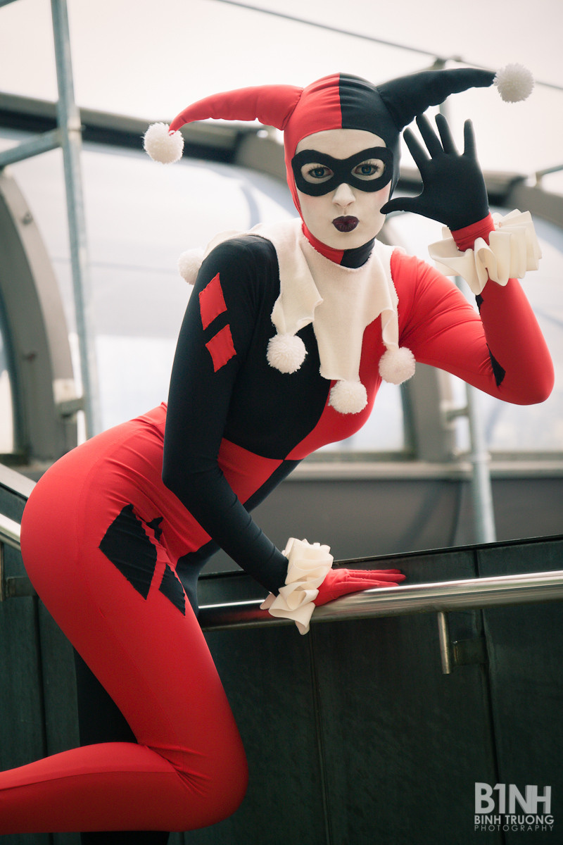 Harley Quinn III by Taeyen