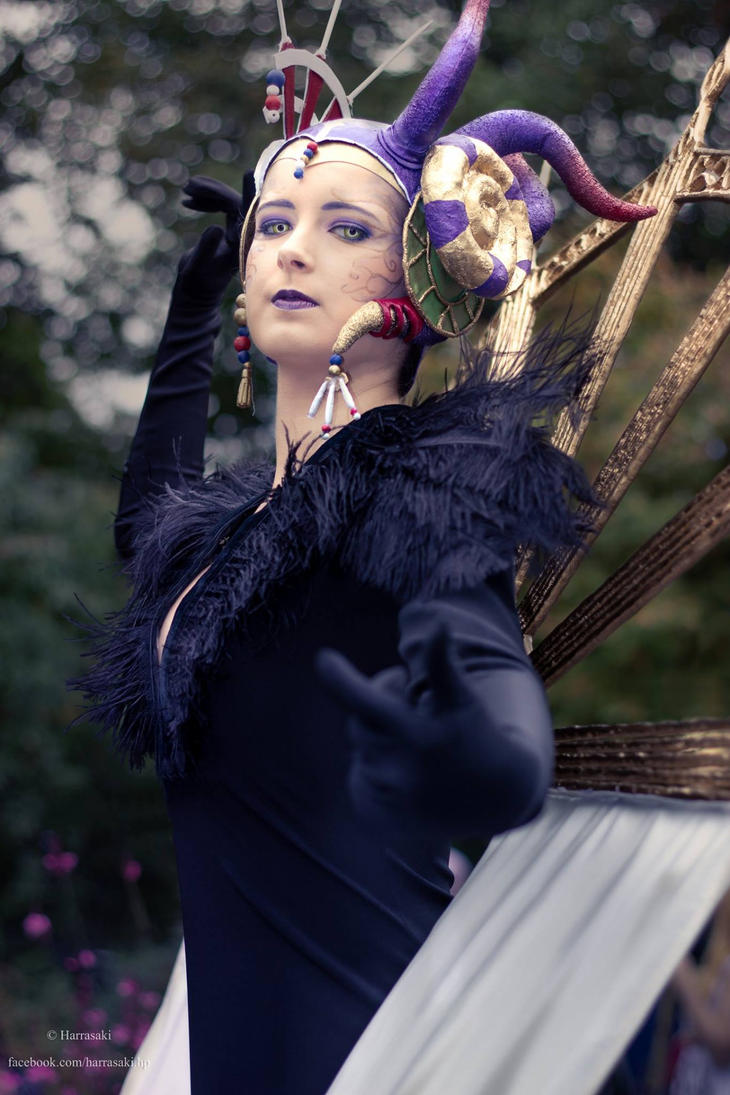 Sorceress Edea by Taeyen