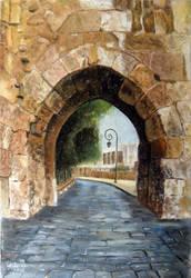 Pastel Old Damascus
